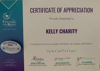 FWD Certificate Of Appreciation - Shout Out On International Women's Day